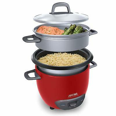 Multi-Functional 6 Rice Cooker Steamer -