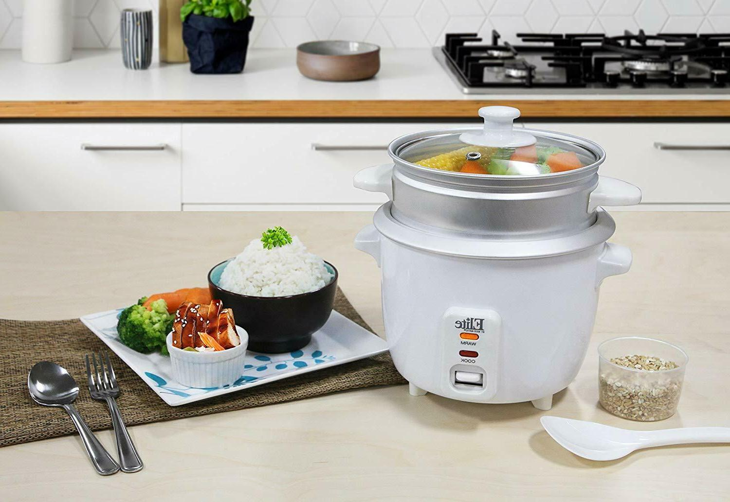 6 Rice with Steamer Warm Makes Soups, Stews,