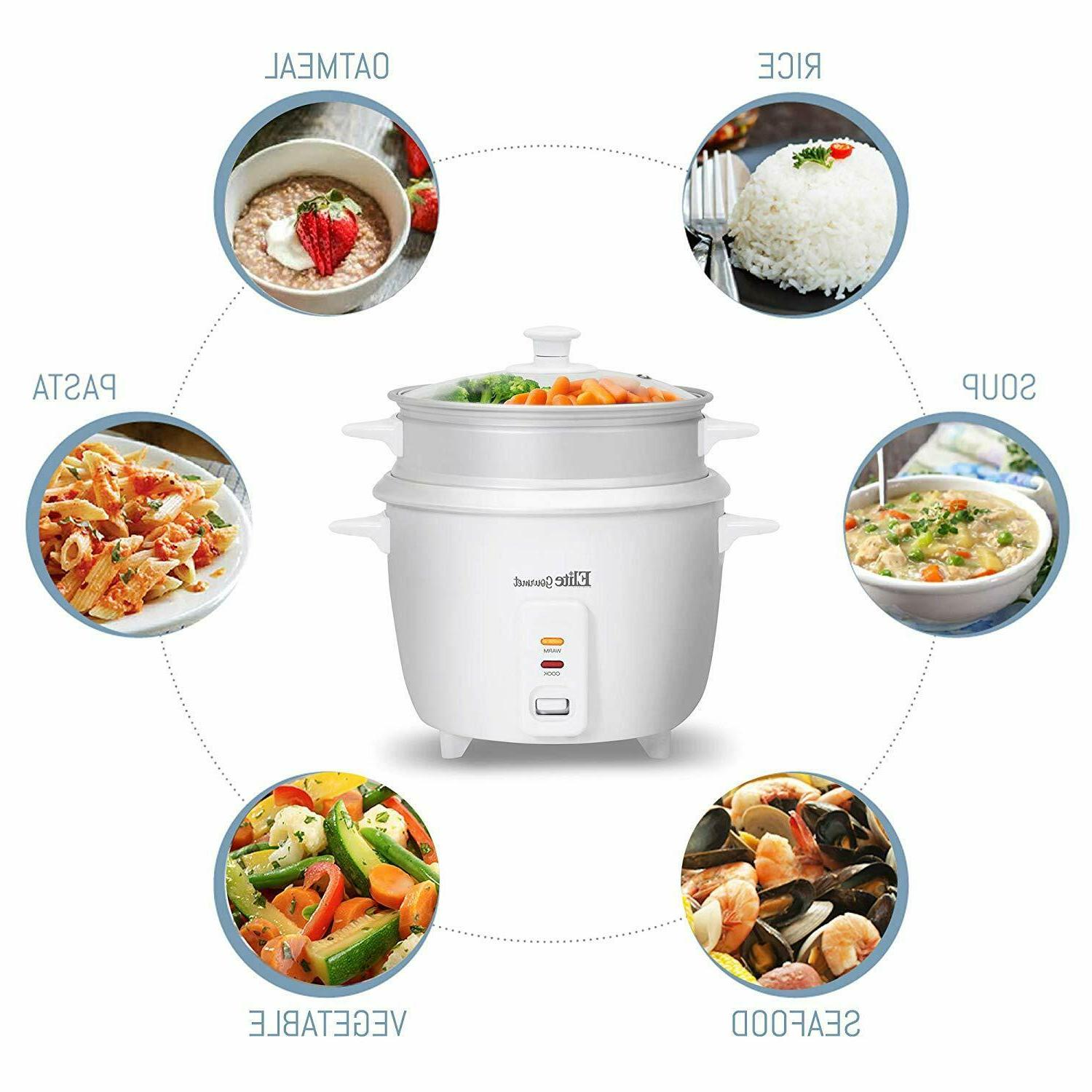 6 Cup with Steamer Warm Soups, Stews, Grains