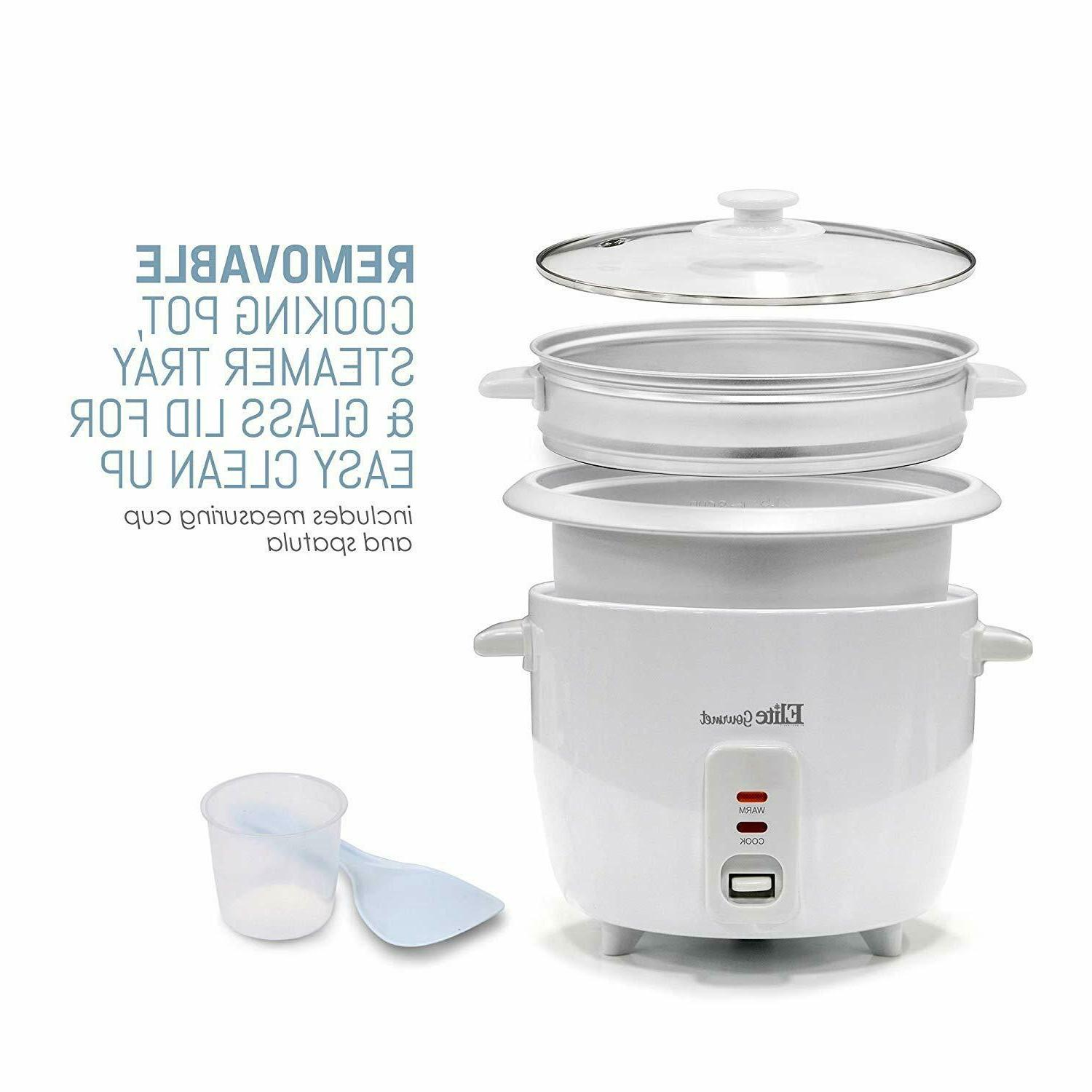 with Steamer Warm Makes Grains