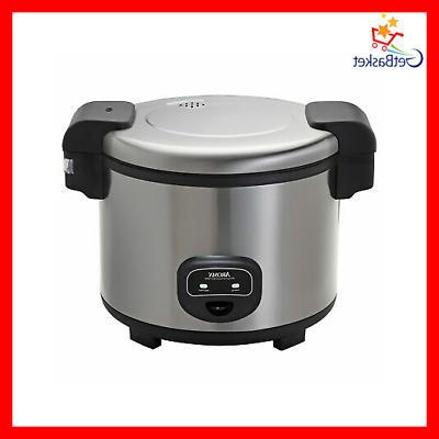 Aroma Housewares 60-Cup   Commercial Rice Cooker, S...