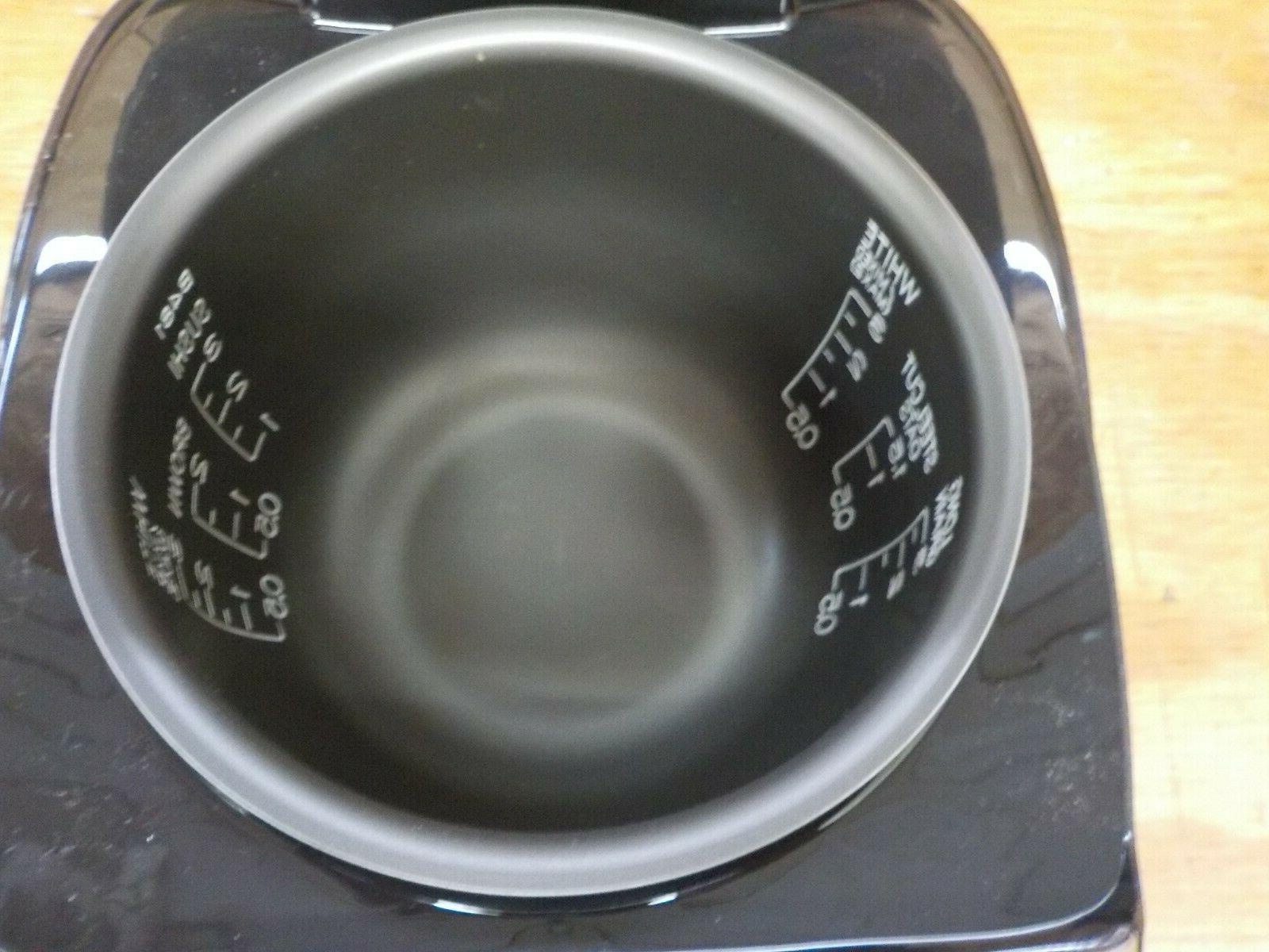 """Zojirushi NS-LGC05XB Micom Rice Cooker & 11.9x9.1x7.5"""""""