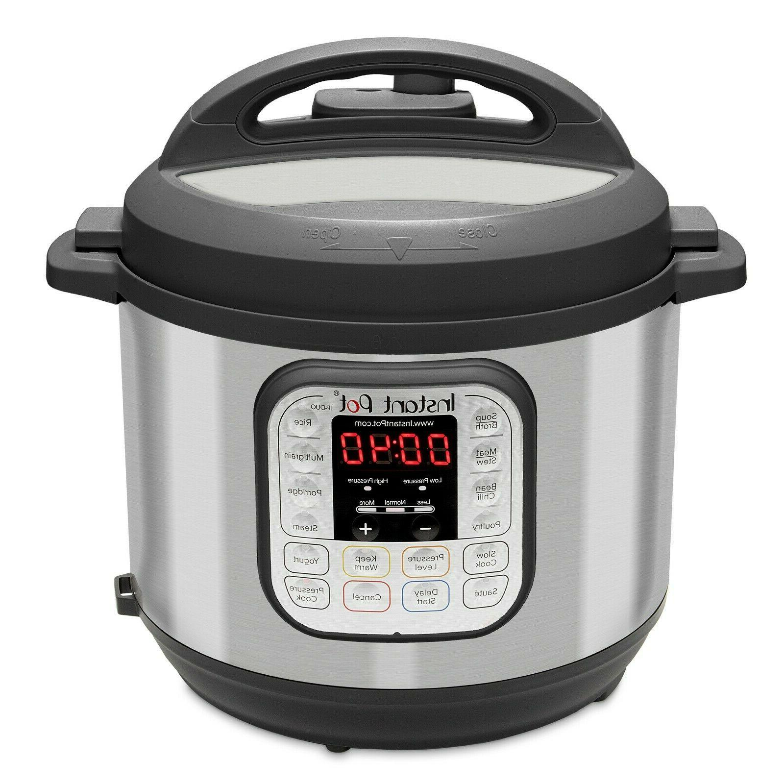 Instant Pot 7-in--1 Multi-Use 6-Quart Rice Cooker Steamer Yo