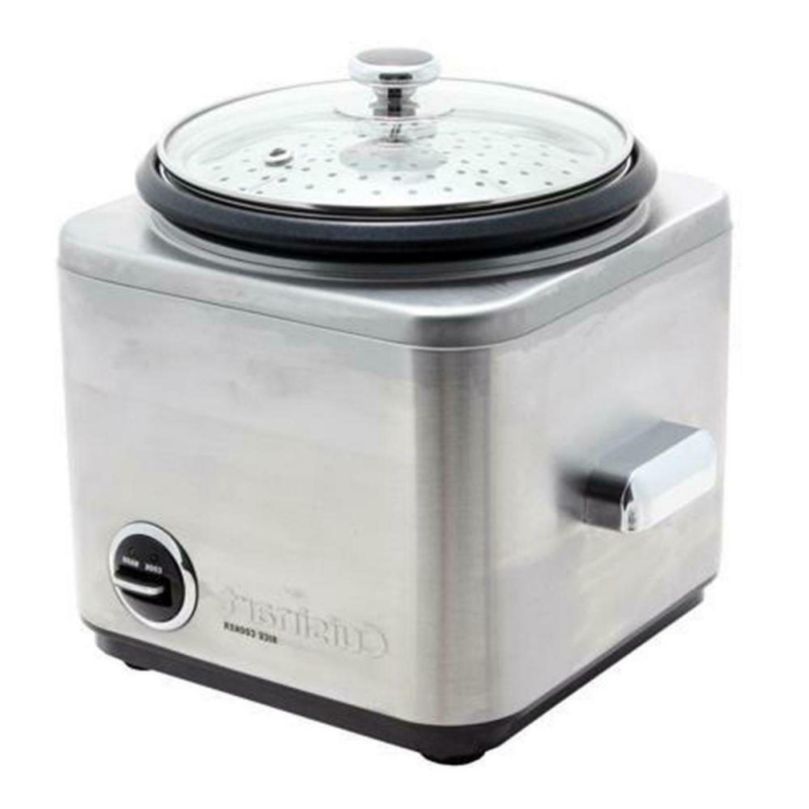 8-Cup Stainless Cooker With Cord And