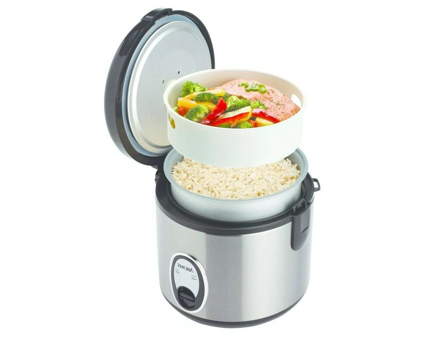 8 Eight Cup Rice Cooker chrome locking lid collector