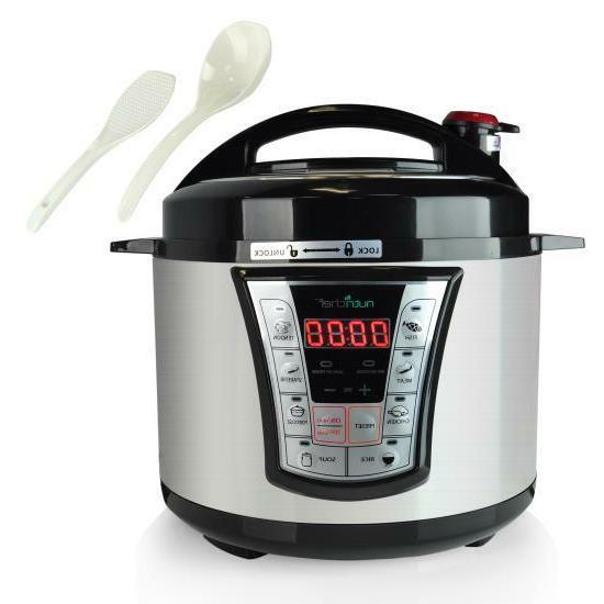 8 in 1 electric programmable pressure cooker