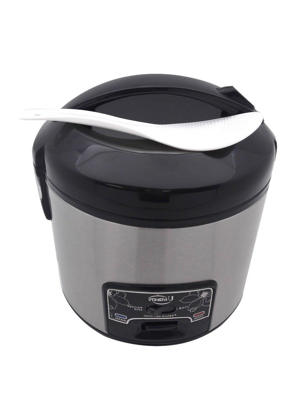 Uniware High Quality Electric Deluxe Rice Cups,Durable,Black