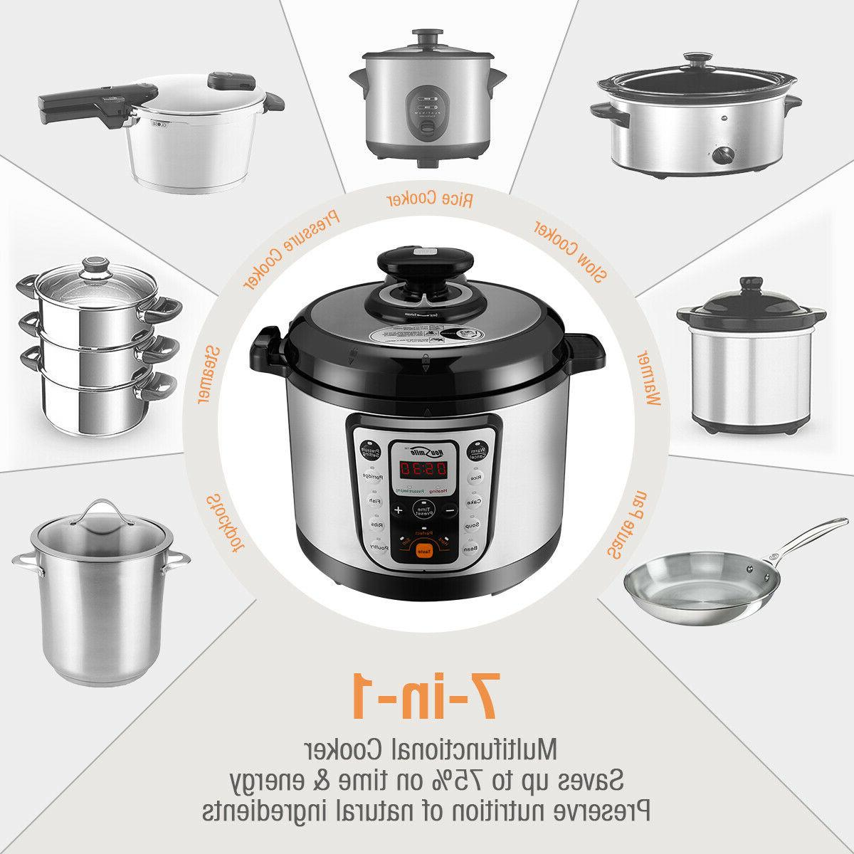 9-in-1 Pressure Cooker Rice Quart
