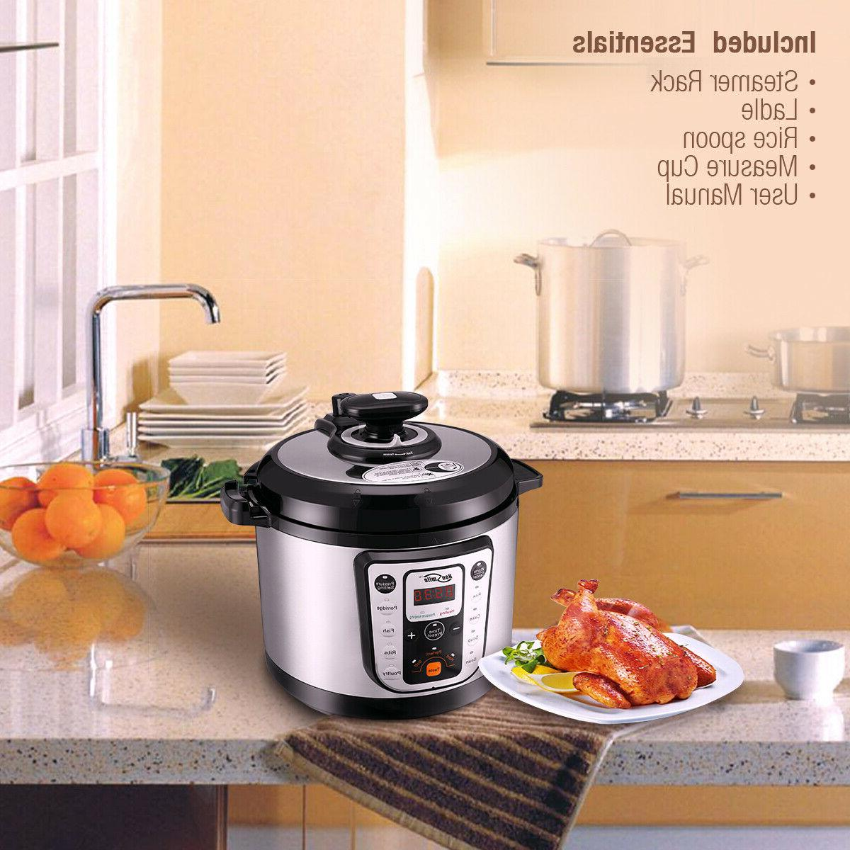 9-in-1 Multi-Use Quart Fast Cooking
