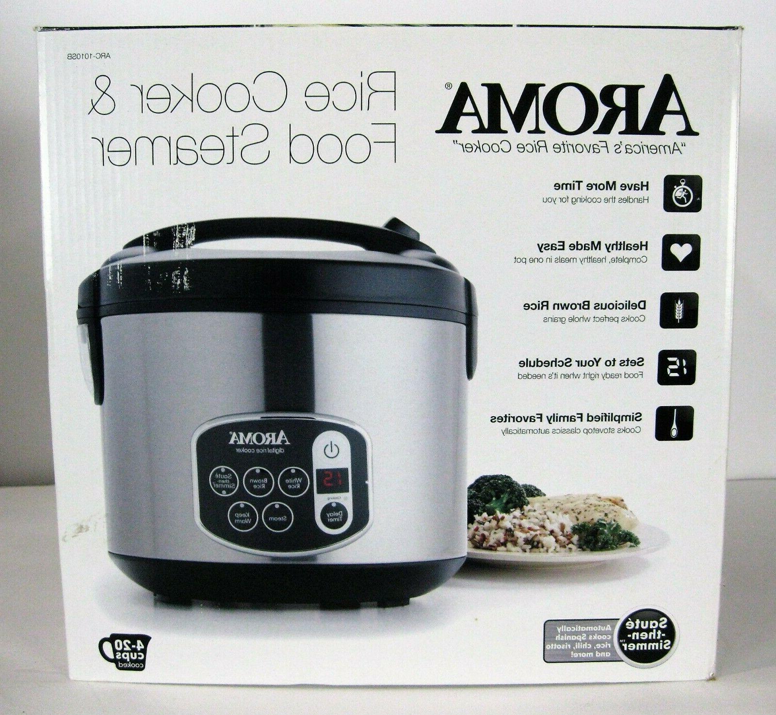 Aroma Housewares 20-Cup   Digital Rice Cooker & Food Steamer