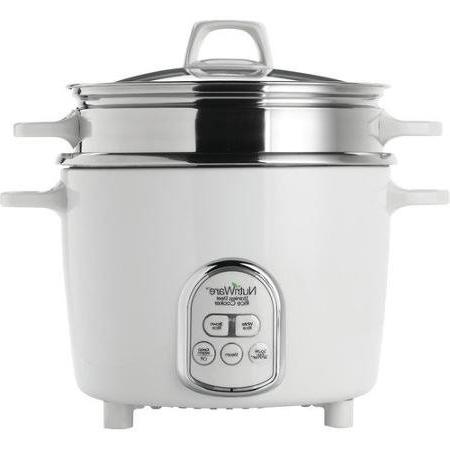 Aroma NutriWare Pot Style Digital Rice Cooker with Exposed S