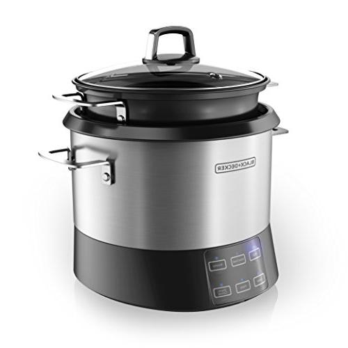 BLACK+DECKER All-in-One Pot, Rice and Saute Stainless