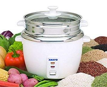 OYAMA Stainless Rice Cooker, Steel Pot, Stainless
