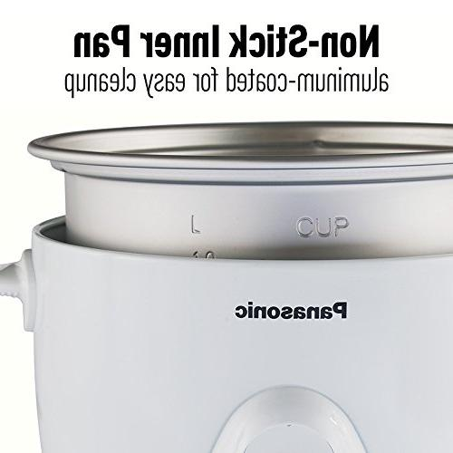 Panasonic Heavy with Basket, 5 uncooked/10 cups cooked