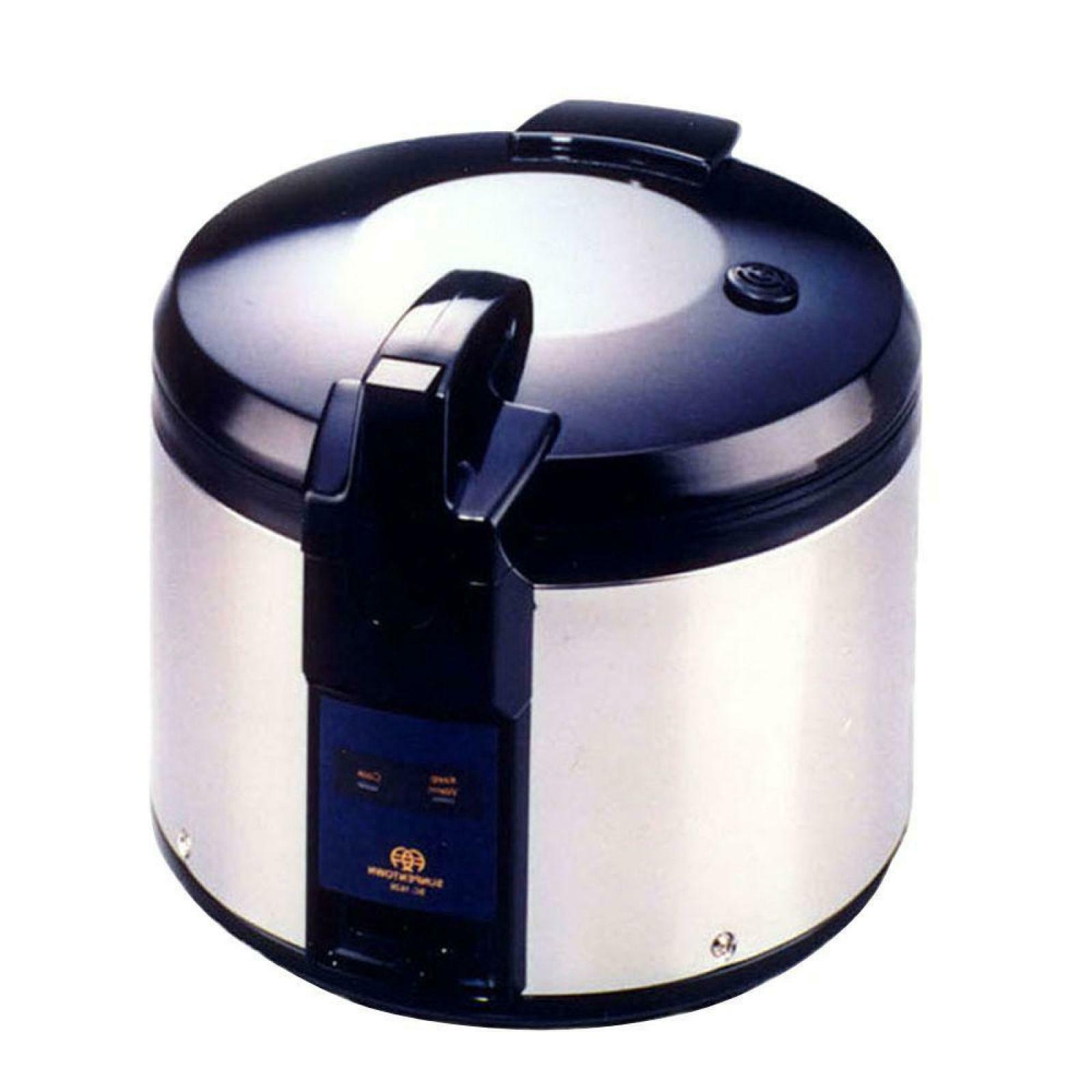 SPT SC-1626 26-Cup  Rice Cooker, Black/Silver