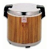 Thunder Group SEJ21000 Wood Grain 50-Cup  100-Cup  Rice Warm