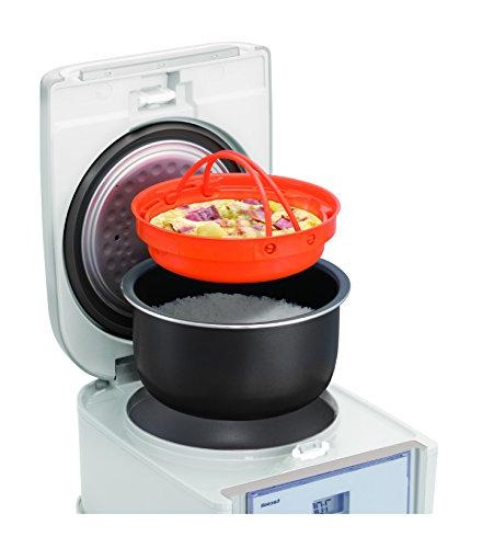 Tiger JAJ-A55U 3-Cup Micom Rice Cooker with Slow Steam, & Cake