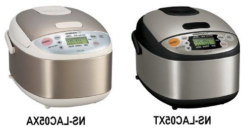 8ab7a6ba3c0 Zojirushi NS-LAC05XT Micom 3-Cup Rice Cooker and Warmer