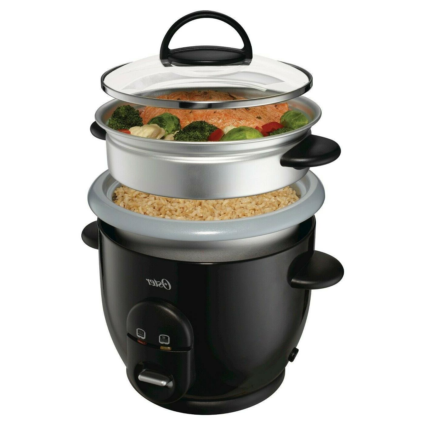 6 cup rice cooker with steamer durable