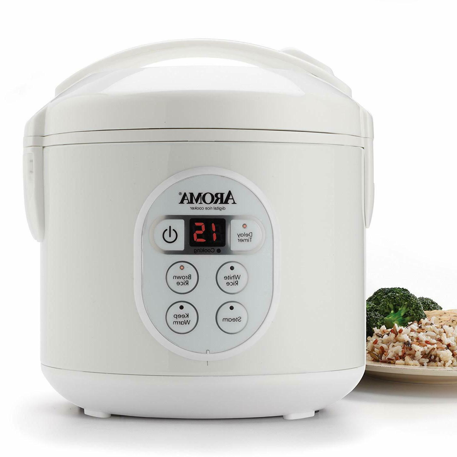 arc 914d digital rice cooker and food