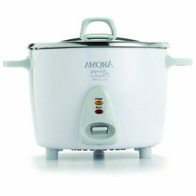 aroma 14 cup rice cooker stainless steel
