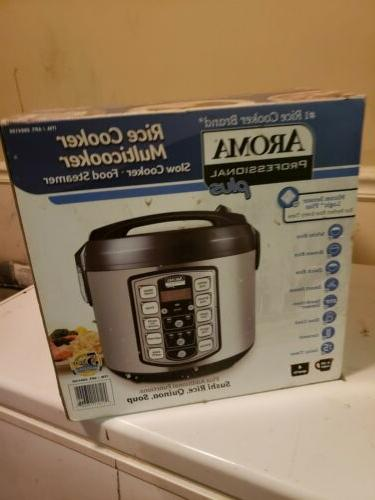 Aroma Rice Cooker and Steel