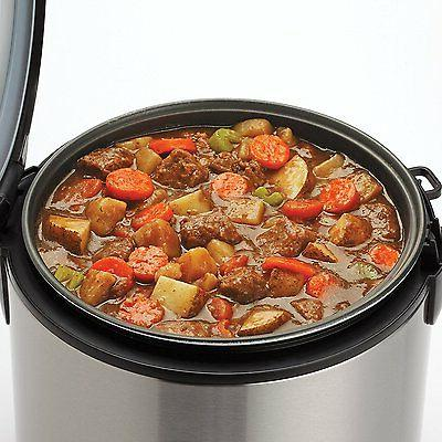 Aroma and Food Steamer, Uncooked, Cooked