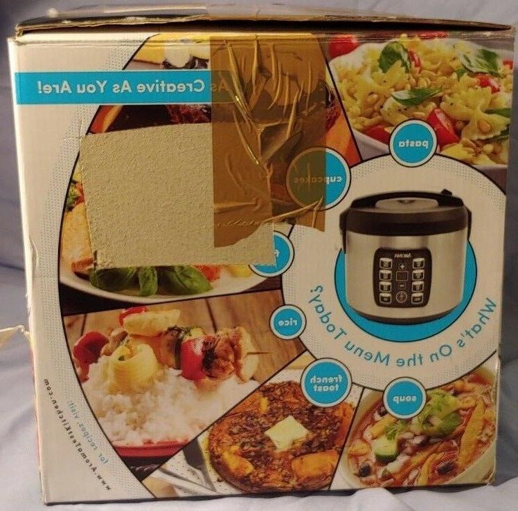 Aroma Multicooker Rice Cooker 4-20 Quarts