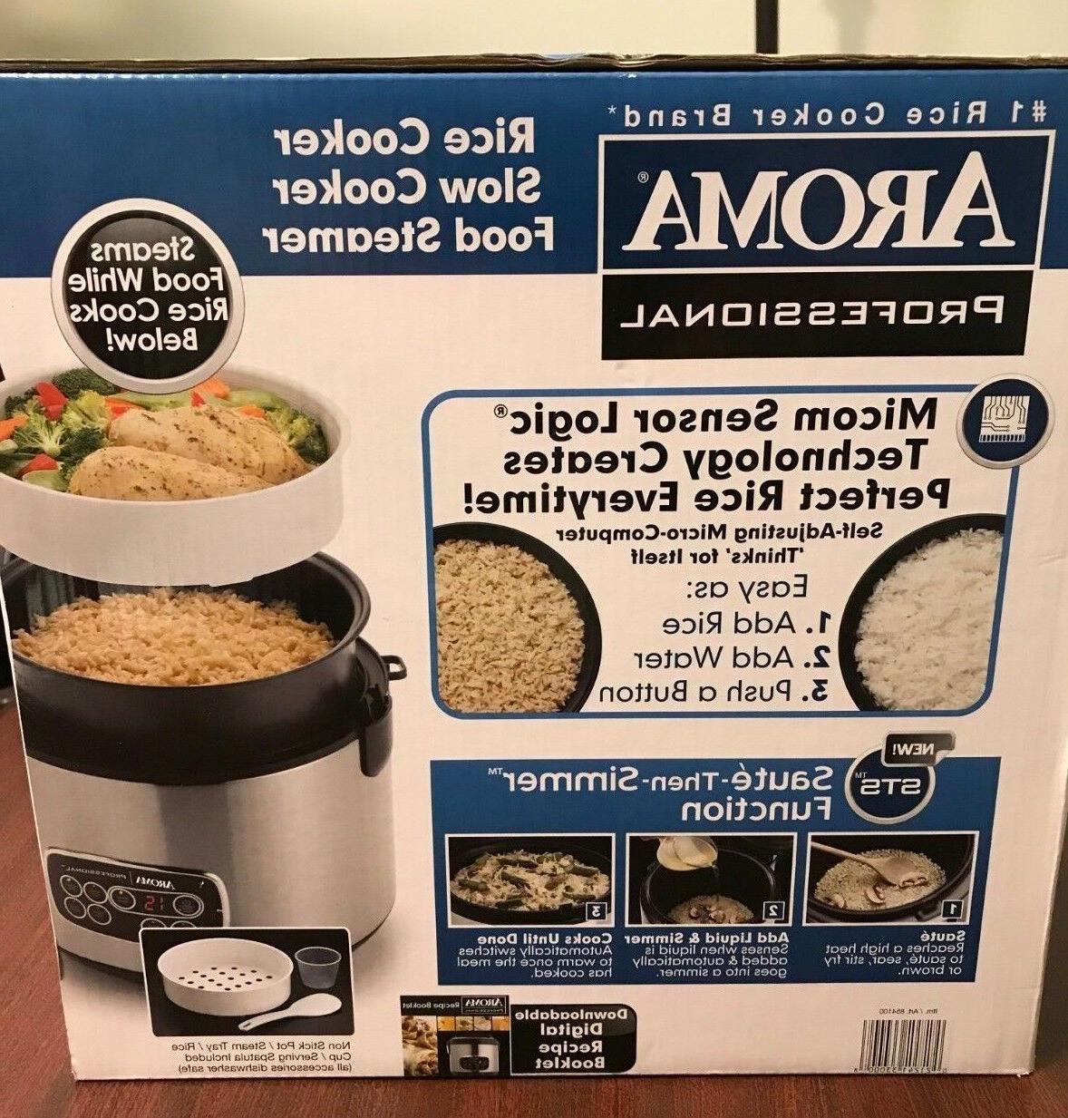 Aroma Professional Cooker ARC-3000SB Steamer