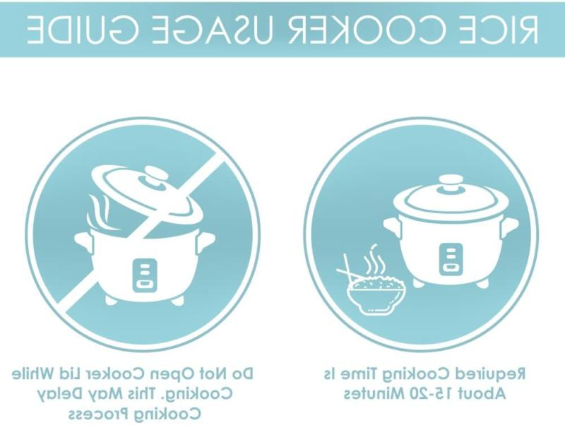 Aroma Simply Stainless 3-Cup Uncooked Rice Cooker,