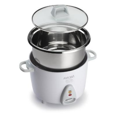 aroma simply stainless uncooked rice