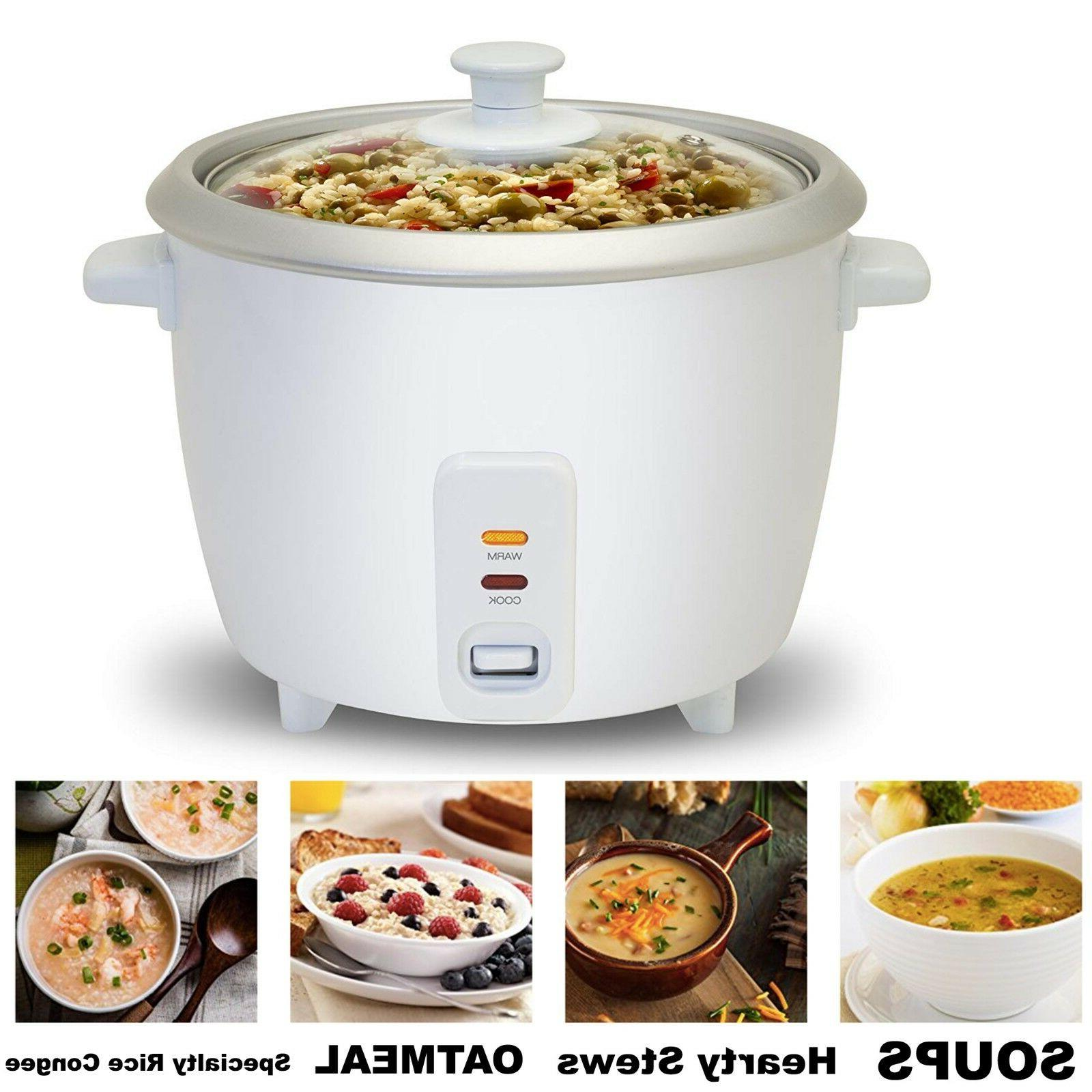 Automatic Rice Electric Keep Warm Cook Soups Stews Grains