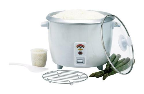 rice cooker 10 cup capacity clear glass