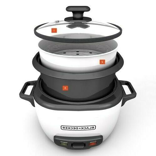 BLACK & DECKER RC516 16-Cup STEAMER