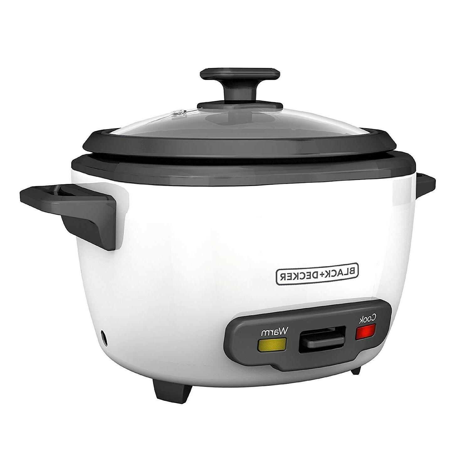 BLACK RC516 16-Cup COOKER STEAMER
