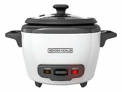 BLACK+DECKER RC500 Rice Cooker Various Serve Cup Sizes 3-16