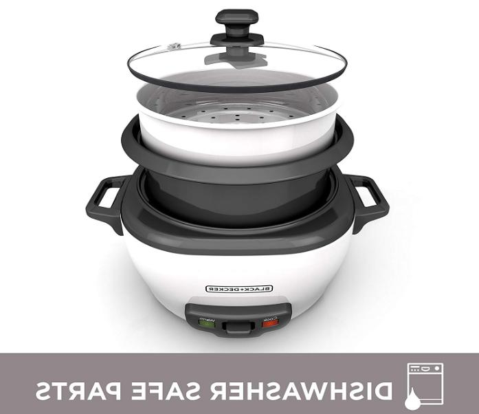 BLACK+DECKER RC506 Cooked/3-Cup Uncooked Rice Food