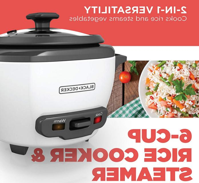 BLACK+DECKER Uncooked Rice and Food