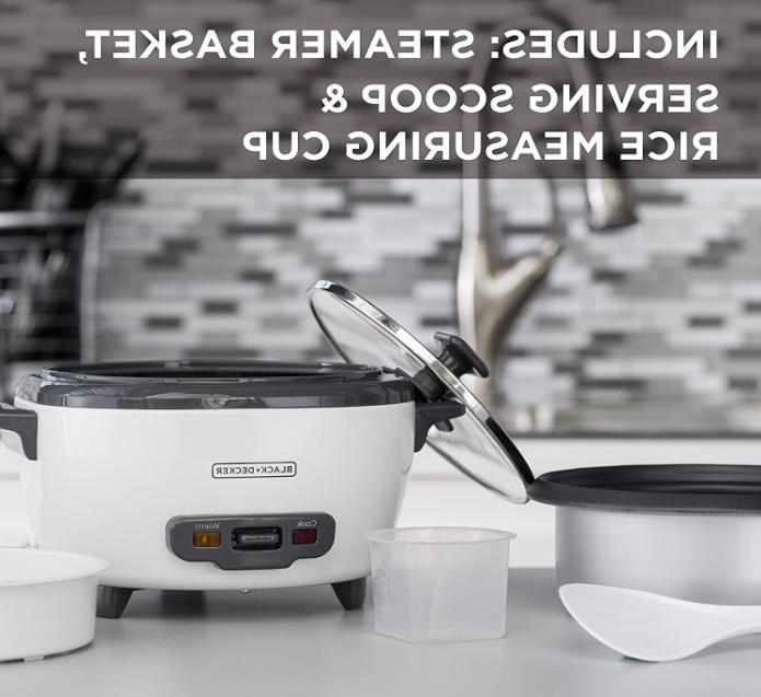 BLACK+DECKER RC506 6-Cup Uncooked Rice and Food