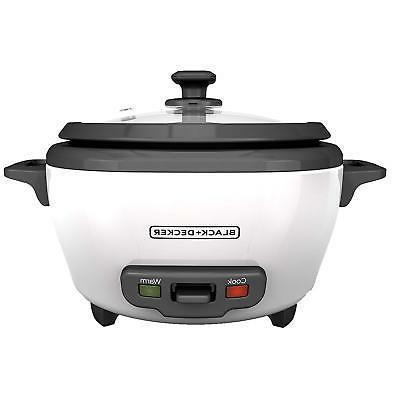 BLACK+DECKER Uncooked Rice Food Steamer,