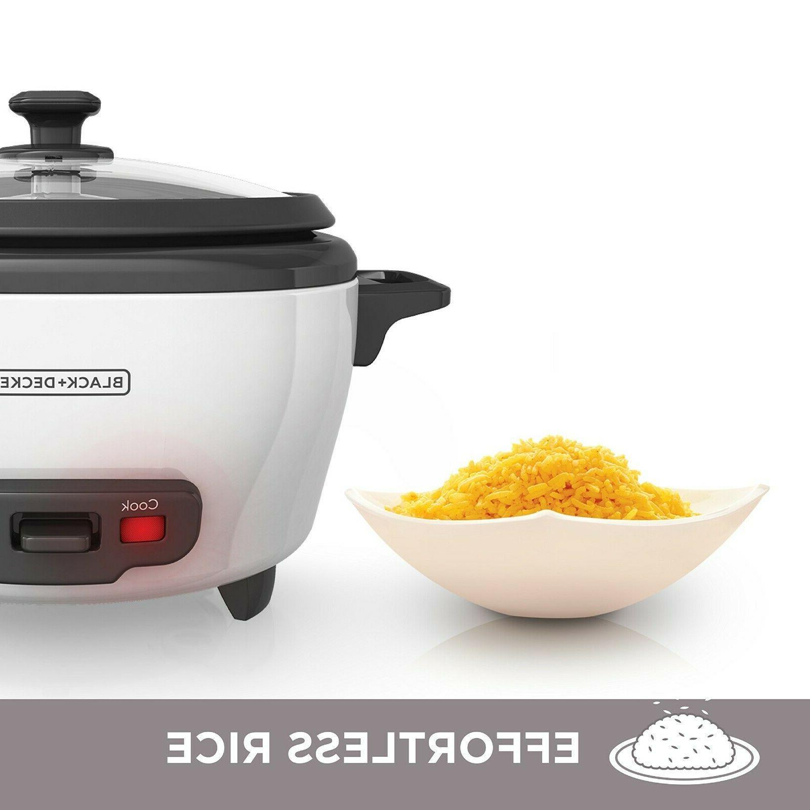 BLACK+DECKER Cooker 6-cup White Food Steamer