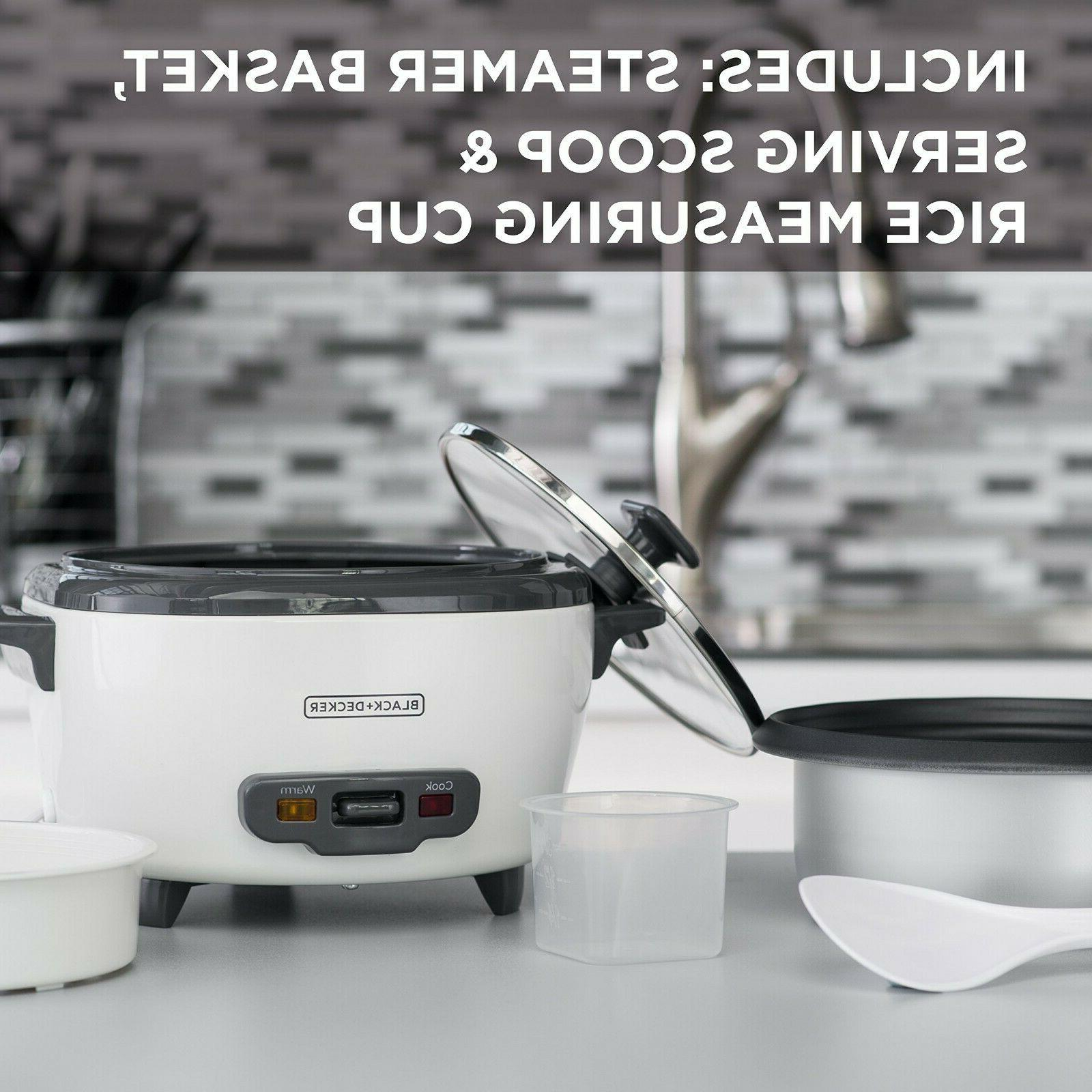 BLACK+DECKER RC506 Cooker White Food Steamer