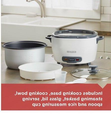 BLACK+DECKER RC5280 28-Cup Cooked/14-Cup Uncooked Food