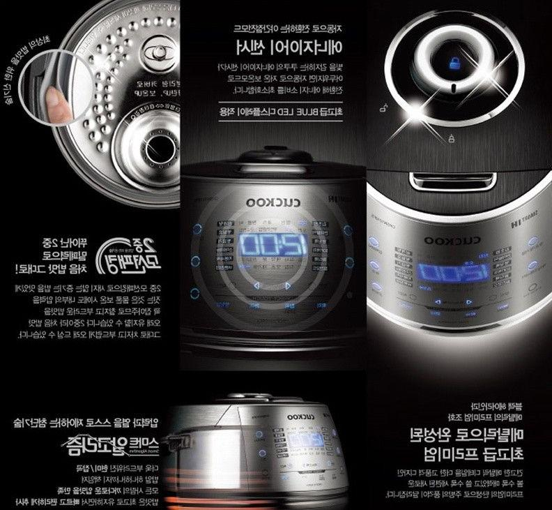 Black CRP-DHR0610FS Rice Cooker Stainless