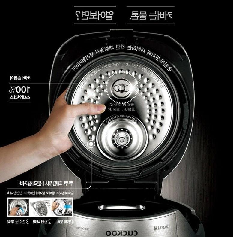 Black CRP-DHR0610FS 6 Rice Cooker Full Stainless
