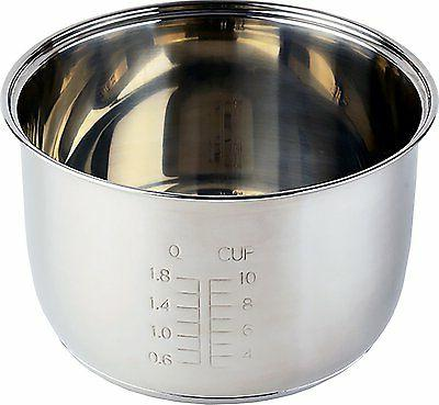 Tayama Stainless Rice Cooker 10 Cup Model TRSC-10 Hot