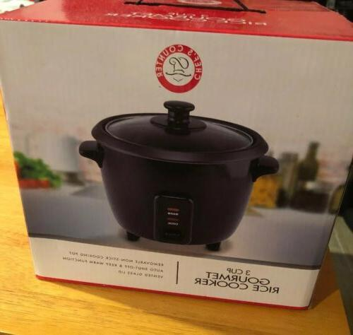 brand new chef s counter 3 cup