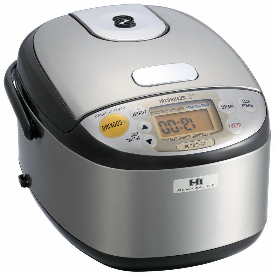 BRAND NEW ZOJIRUSHI NP-GBC05 Induction Heating Rice Cooker 3