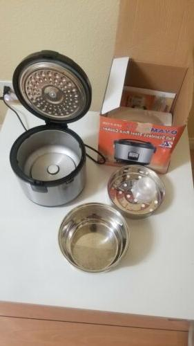 cfs f12b full stainless steel rice cooker