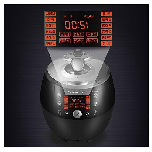 CUCHEN CJS-FC0603F Pressure Rice Cooker 6 steam
